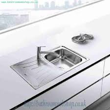 inset kitchen sink stainless steel kitchen sinks inset teka universo 79 1b 1d inset