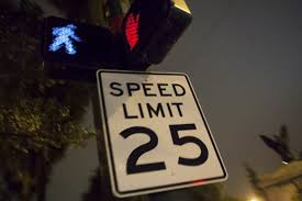 Speed Of Light In Miles Per Hour Things To Know About Nyc U0027s New 25 Miles Per Hour Speed Limit