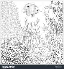 sea plants coloring pages coloring pages new coloring page sea coral coloring page coral