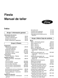 manual mecanica em espanhol ford fiesta 96 99 mk4 by us pt
