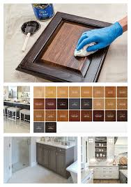 what is gel stain for cabinets our best tips for staining cabinets or re staining