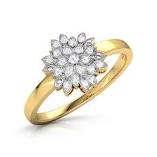 gold diamond rings jokia burst ring jewellery india online caratlane