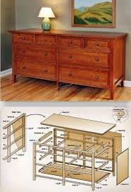 Diy Wood Desk Plans by Dresser Plans Furniture Plans And Projects Woodarchivist Com