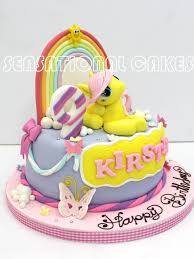 the sensational cakes fluttershy little pony 3d cake singapore