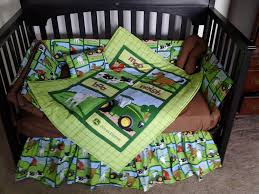 Deer Crib Bedding What Is The Best John Deere Tractor Baby Bedding
