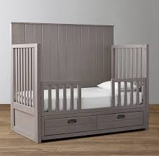 How To Convert A Crib To Toddler Bed Storage Conversion Crib Toddler Bed Kit