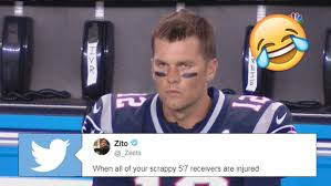 football fans tore into tom brady with meme after meme following the