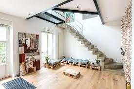escalier entre cuisine et salon escalier entre cuisine et salon une mezzanine pour salon taclac