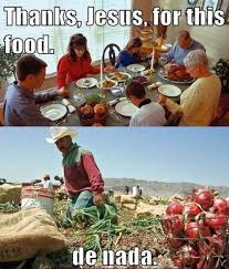 thanksgiving is a celebration of free market capitalism peaceful