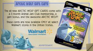 animaljam gift card image jamaa journal vol 072 arctic wolf gift card png animal
