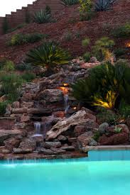 Waterfall Ideas For Backyard Awesome Waterfalls Designs For Fantastic Backyard