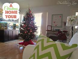 Homes Decorated For Christmas by Huckleberry Love
