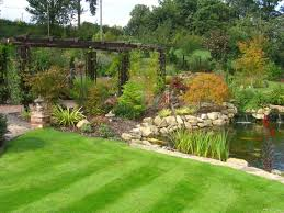 Garden Design Ideas For Large Gardens Landscaping Ideas For Large Gardens Webzine Co