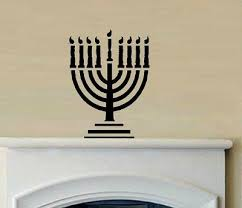 Hanukkah Home Decor Wall Decor Stickers For Your Home At The Holidays Craftfoxes