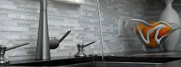 Kitchen Backsplash For Black Granite Countertops - black countertop glass marble backsplash backsplash com