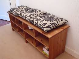 ikea benches wood bench with storage ikea home design ideas useful bench