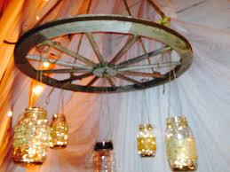 Mason Jar Wagon Wheel Chandelier 36 Best Harwood Hills Farm Weddings And Receptions Images On