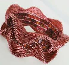 contemporary geometric beadwork a groundbreaking new book in two