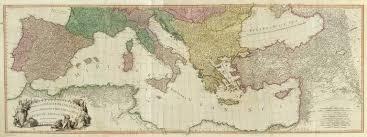 Mediterranean Sea World Map by Composite Mediterranean David Rumsey Historical Map Collection