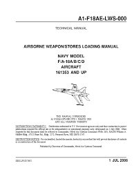 fa 18abcd airborne weapons stores loading manual