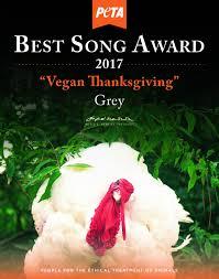grey celebrates vegan thanksgiving at sublime with peta peta