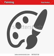 Painting Icon Vector Dolls Icon Russian Nesting Dolls Stock Vector 362887517