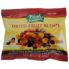 gourmet fruit fresh gourmet dried fruit blend travel size miniature products