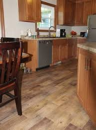 drop done luxury vinyl plank in eastern township with metal