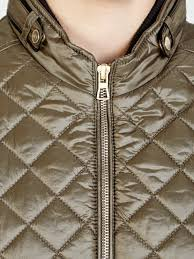 north face lixus jacket gerry weber quilted double zip gilet jacket in natural lyst