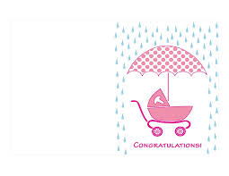 baby shower card template best business template