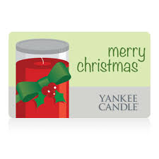 traditional gift cards yankee candle