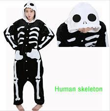 online get cheap halloween skeleton pajamas aliexpress com