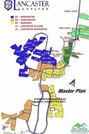 map of new city master plan map of lancaster new city house for sale cavite
