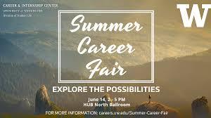 Sample Resume For Job Fair by 2017 Summer Career Fair U2013 Career U0026 Internship Center University