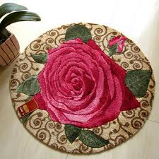 Red Round Rug Online Get Cheap Red Rose Rug Aliexpress Com Alibaba Group