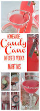 christmas martini recipes candy cane martinis homemade peppermint infused vodka