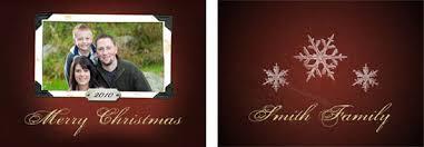 fashionable design christmas card templates for photographers