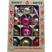 vintage ornaments on ruby