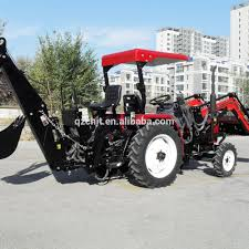 mini tractor with front end loader and backhoe mini tractor with