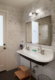 back to back sinks farmhouse bathroom sink realie org sensational design room
