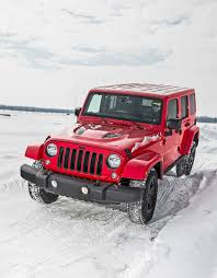 jeep wrangler snow tires fca winter drive event