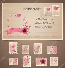 timbre poste mariage de carte postale vintage et timbres poste pour voiture de