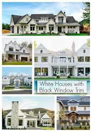 black trim exploring white houses with black trim on virginia