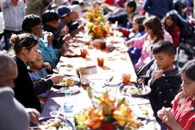 fundraiser by donia feeding the homeless thanksgiving
