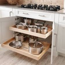 fancy plush design kitchen drawers for pots and pans pot drawer