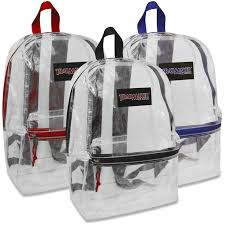 book bags in bulk wholesale trailmaker classic 17 inch clear backpack bags in bulk