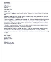 sample social worker cover letters resume social work resume