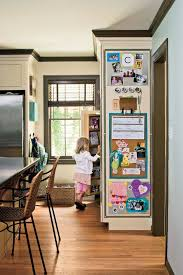 kitchen message center ideas how to a family command center southern living