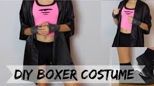 diy boxer halloween costume last minute youtube