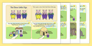 pigs story cards pigs